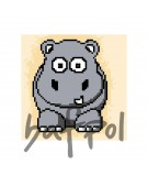 KANWA 5709 HIPOPOTAM